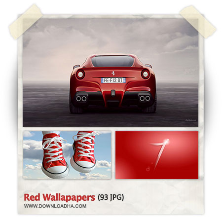Red Wallpapers دانلود مجموعه 93 والپیپر با موضوع رنگ قرمز Red Wallpapers