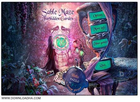Sable Maze 3 دانلود بازی فکری باغچه ی ممنوعه Sable Maze 3: Forbidden Garden