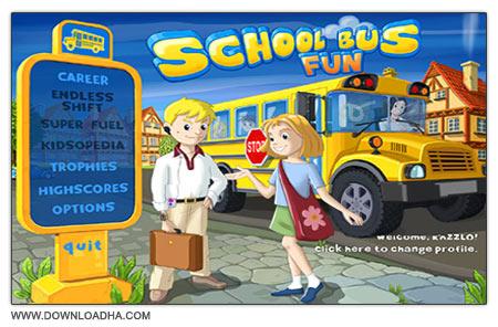 School Bus Fun دانلود بازی مدیریتی و کم حجم School Bus Fun