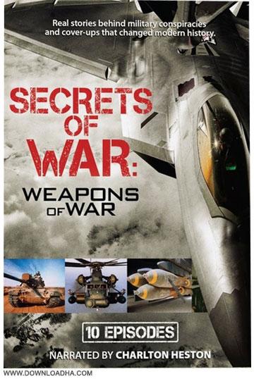 Secrets of War Weapons of War Cover دانلود مستند سریالی راز سلاح های جنگی Secrets of War: Weapons of War 2014