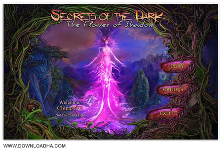 Secrets of the Dark 4 دانلود بازی فکری Secrets of the Dark: The Flower of Shadow