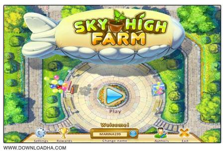 Sky High Farm دانلود بازی مدیریت مزرعه Sky High Farm