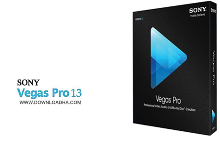Sony Vegas Pro 13 ویرایش حرفه ای فیلم با Sony Vegas Pro 13.0 Build 290 x64