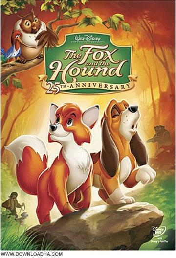 The fox and the hound دانلود دوبله فارسی انیمیشن روباه و سگ شکاری The Fox and the Hound 1981