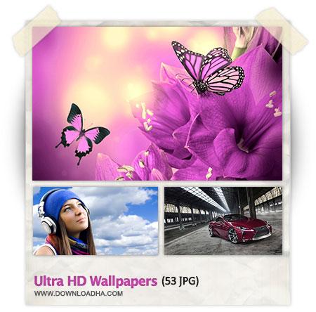 Ultra HD Wallpapers مجموعه 53 والپیپر با رزولوشن بسیار بالا Ultra HD Wallpapers