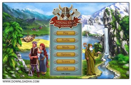 Viking Saga 3 دانلود بازی مدیریتی حماسه وایکینگ Viking Saga 3: Epic Adventure