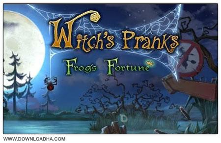 Witchs Pranks دانلود بازی فکری شوخی های جادوگر Witchs Pranks: Frogs Fortune