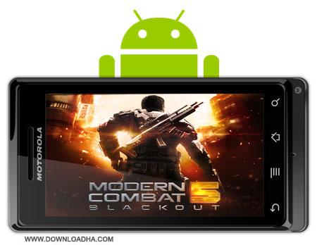 modern combat 5 blackout دانلود بازی جنگ های مدرن Modern Combat 5: Blackout 1.0.0p   آندروید