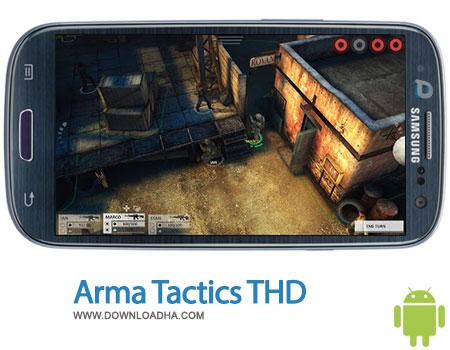 arma tactics thd android بازی زیبای Arma Tactics THD 1.2158   اندروید