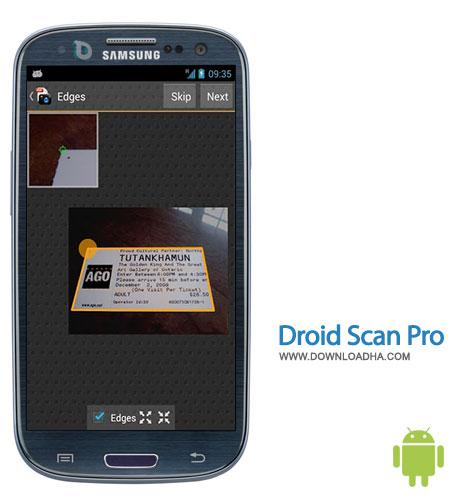 droid scan pro android تبدیل موبایل به یک اسکنر همراه با Droid Scan Pro 5.7.5 – آندروید
