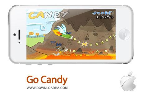 go candy دانلود بازی Go Candy 1.3 – آیفون و آیپد