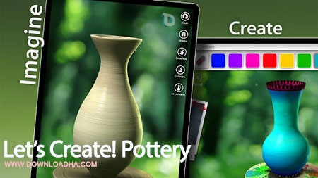lets create pottery android بازی زیبای سفالگری Lets Create! Pottery 1.50   اندروید