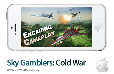 sky gamblers cold war بازی  زیبای Sky Gamblers: Cold War 1.0   آیفون و آیپد