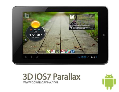 3d ios7 lwp android لایو والپیپر 3D iOS7 Parallax LWP 1.0.1   اندروید