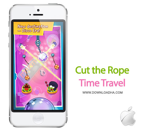 cut the rope time travel 1.1 بازی زیبای Cut the Rope: Time Travel 1.1   آیفون و آیپد
