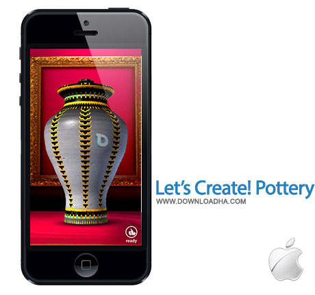 lets create pottery hd بازی سرگرم کننده Lets Create! Pottery HD 1.52   آیفون و آیپد