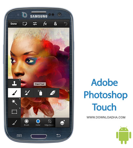 photoshop touch android mobile ویرایش تصاویر با Adobe Photoshop Touch for phone 1.1.1   اندروید