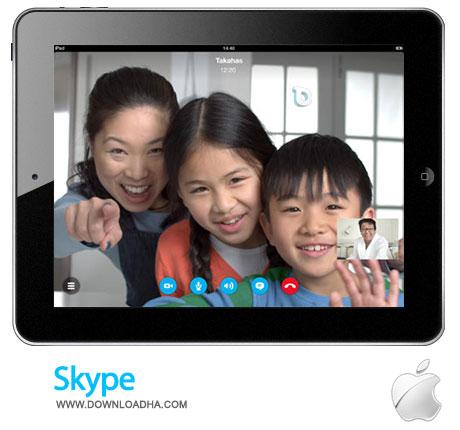 skype ipad تماس اینترنتی با Skype for iPad 4.10   آیپد