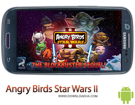 angry birds star wars 2 android بازی محبوب Angry Birds Star Wars II 1.0.2   اندروید