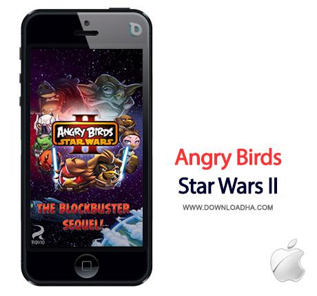 angry birds star wars 2 بازی محبوب Angry Birds Star Wars II 1.0   آیفون و آیپد