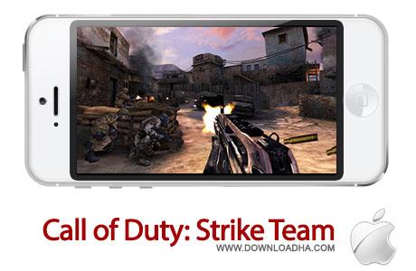 call of duty strike team بازی اکشن و محبوب Call of Duty: Strike Team   آیفون و آیپد