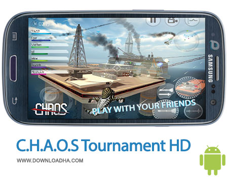 chaos tournament hd android بازی جنگی C.H.A.O.S Tournament HD 1.3.1   اندروید