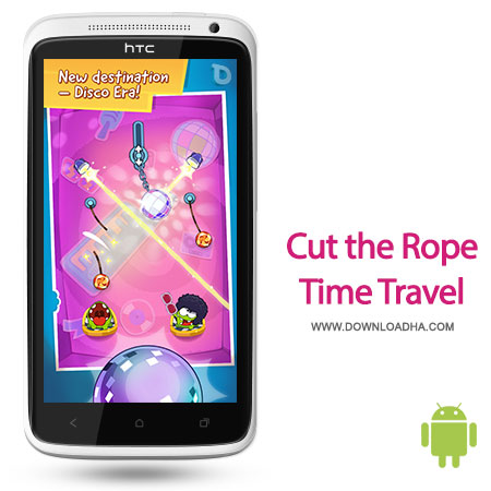 cut the rope time travel android 1.1.1 بازی زیبای Cut the Rope: Time Travel HD 1.1.1   اندروید