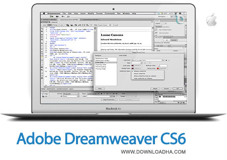 dreamweaver cs6 mac دانلود Adobe Dreamweaver CS6 V12   مک