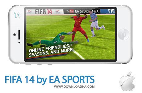 fifa 14 بازی فوتبال محبوب FIFA 14 by EA SPORTS   آیفون و آیپد