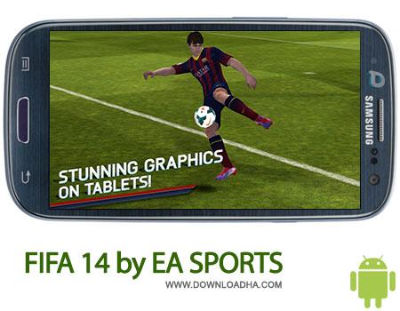 fifa14 android بازی فوتبال محبوب FIFA 14 by EA SPORTS 1.2.8   اندروید