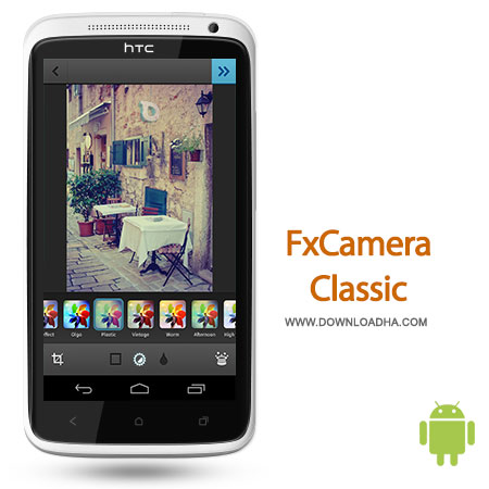 fxcamera classic android بهبود تصاویر با FxCamera Classic 1.0.0   اندروید