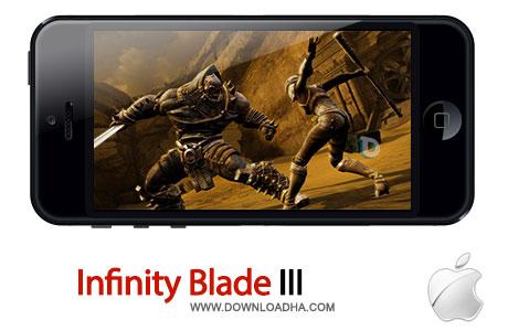infinity blade 3 بازی زیبای Infinity Blade III 1.0.1   آیفون و آیپد