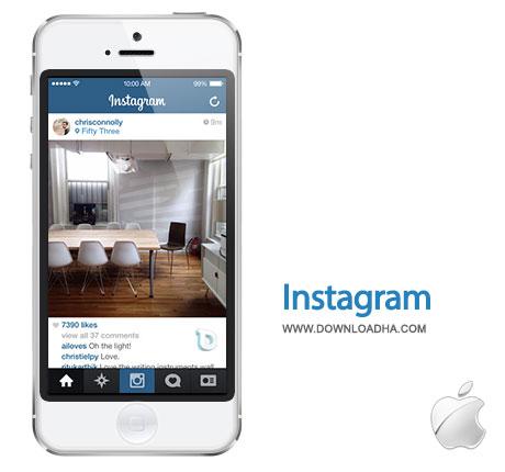 instagram به اشتراک گذاری عکسها با Instagram 4.2.0   آیفون و آیپد