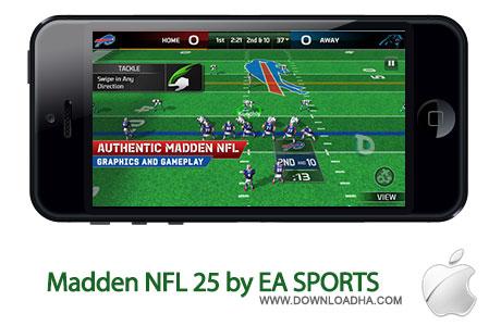 madden nfl 25 بازی فوتبال امریکایی Madden NFL 25 by EA SPORTS   آیفون و آیپد