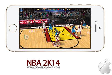 nba 2k14 بازی بسکتبال NBA 2K14 1.0   آیفون و آیپد