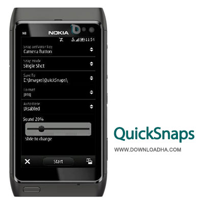 quicksnaps symbian تهیه اسکرین شات از صفحه با Lancet QuickSnaps 1.02   سیمبین S60v5 S^3 Anna Belle