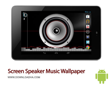 screen speaker android لایو والپیپر Screen Speaker Music Wallpaper 1.2.5   اندروید
