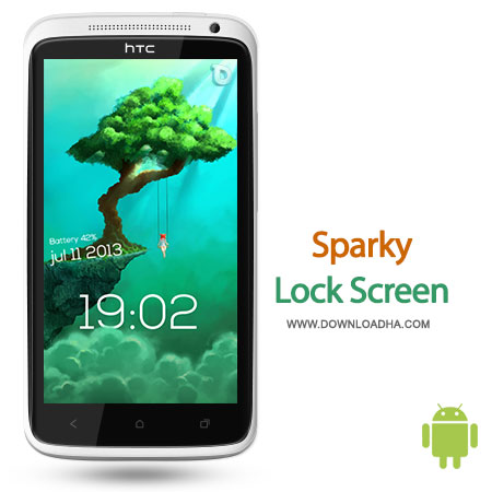 sparky lock screen android لاک اسکرین Sparky Lock Screen 0.99.5.6   اندروید
