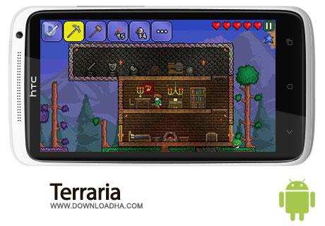 terraria android دانلود بازی Terraria 1.0   اندروید