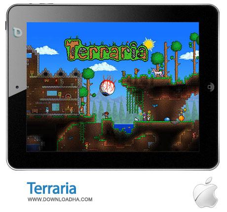 terraria بازی جذاب و سرگرم کننده Terraria 1.0   آیفون و آیپد