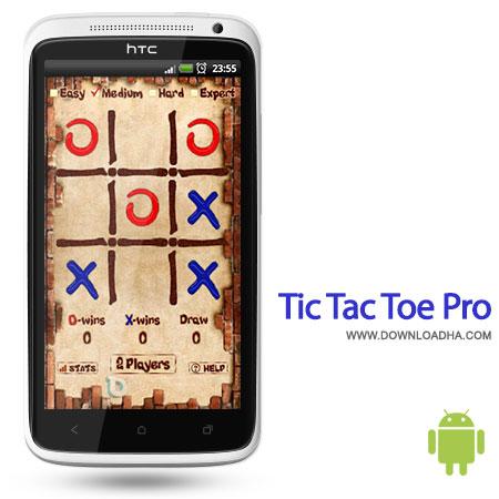 tic tac toe pro android بازی محبوب دوز Tic Tac Toe Pro 3.6.1   اندروید