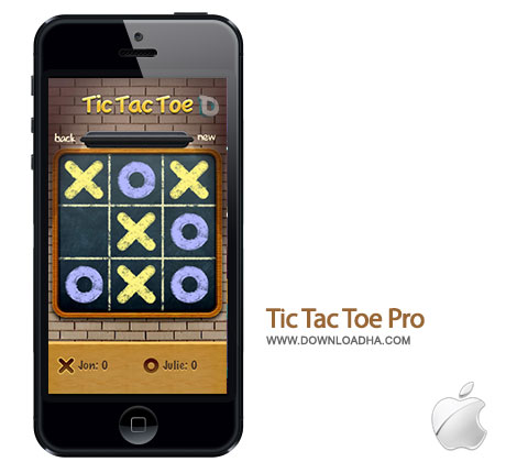 tic tac toe pro بازی محبوب دوز Tic Tac Toe Pro 2.25   آیفون و آیپد