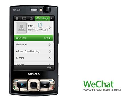 wechat s60v3 دانلود مسنجر WeChat   سیمبین S60v3