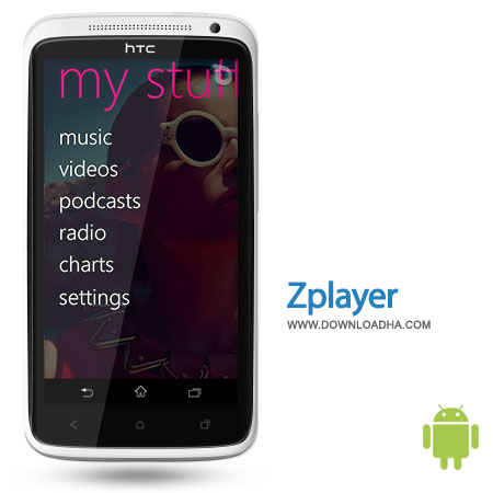 zplayer android موزیک پلیر ZPlayer 3.9   اندروید