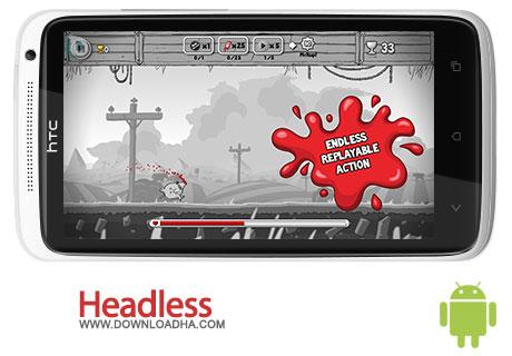 headless android بازی جذاب Headless 0.1.2   اندروید