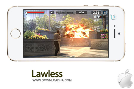 lawless بازی جنایی Lawless 1.0   آیفون و آیپد
