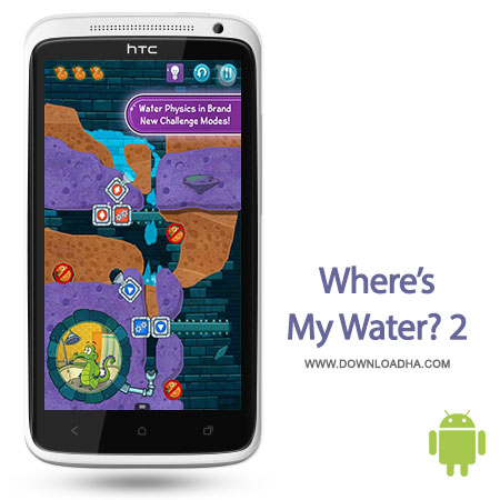 wheres my water2 android بازی سرگرم کننده Wheres My Water? 2 1.0   اندروید