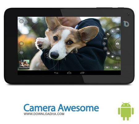 camera awesome android عکاسی با قابلیتهای بیشتر در موبایل با Camera Awesome 1.0   اندروید