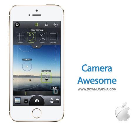 camra awesome عکاسی با قابلیتهای بیشتر در موبایل با Camera Awesome 1.0   آیفون و آیپد