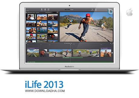 ilife 2013 مدیریت عکس و فیلم و موزیک با iLife 2013   مک